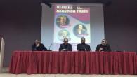 Siyer ve İslam Tarihi'nin önemli isimleri Daru'l-Fünun İlahiyat Öğrenci Topluluğunun panelinde buluştu