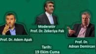 Prof. Dr. Adem Apak ve Prof. Dr. Adnan Demircan, İlahiyat Buluşmalarında