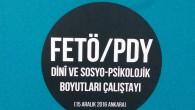 Prof. Dr. Şaban Öz'ün FETÖ/PDY Çalıştayı sunumu yayımlandı