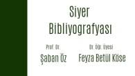 Siyer Bibliyografyası'nı yayımladık