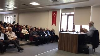 Siyer Araştırmaları Öğrenci Topluluğu'nun konuğu Prof. Dr. Hayri Kırbaşoğlu oldu