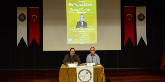 """Prof. Dr. Hayri Kırbaşoğlu'nun """"Bir Yaşam Modeli Olarak Sünnet"""" programı video kaydı sitemiz video galerisi ve Youtube kanalımızda"""