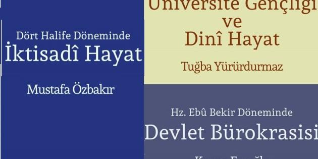 SAMER Yayınlarından üç kitap daha