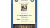 """Prof. Dr. Şaban Öz, """"Siyer Problemlerine Yaklaşım"""" konferansında Siyer'in çeşitli meselelerini ele aldı."""