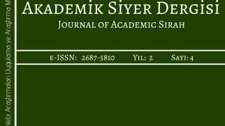 Akademik Siyer Dergisi'nin 4. sayısı yayımlandı.